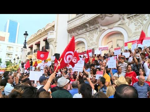 Tunisians rally in support of equal inheritance bill