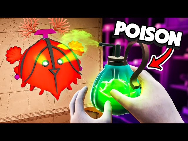 Crafting RARE MASKS And POISON In VR - Maskmaker VR