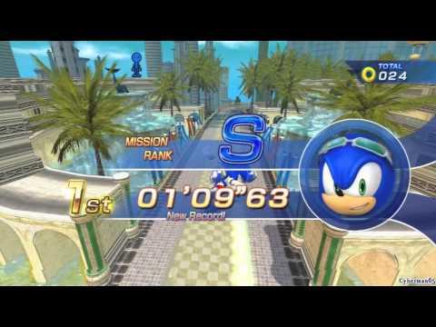 Sonic Free Riders - [Part 02 - Team Heroes 1/3 - VS. Team Rose]