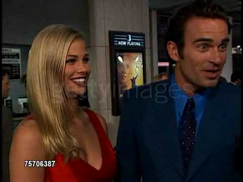 """Julian McMahon & Brooke Burns at """"The Mighty"""" Premiere ..."""