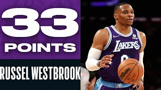 Russell Westbrook FUELS Lakers to OT Victory!   Near Triple-Double