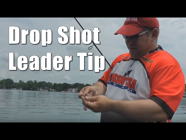 Drop Shot Leader Tip