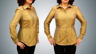 Shirt Sewing - Button Down Long Sleeve - Introduction (FREE SAMPLE)