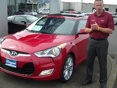 2012 Hyundai Veloster W Style Package At Sheppard Motors