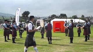 Vale of Atholl Pipe Band - Crieff Pipe Band Championships 25 August 2013