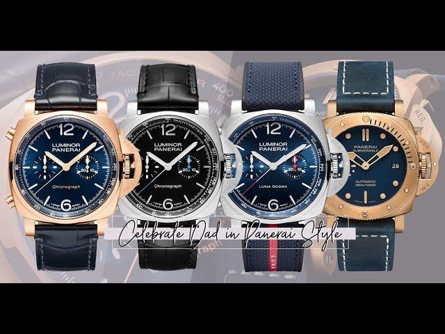 4款Panerai腕錶,送給骨子裡帶著豪邁的型爸