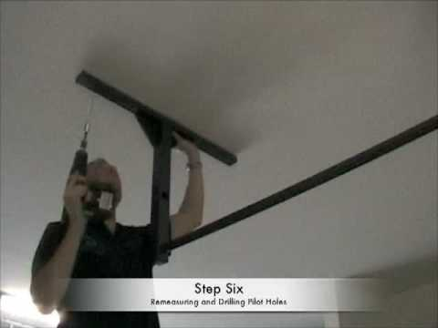 To Install A Pullup Bar On The Ceiling, Pull Up Bar Garage Ceiling