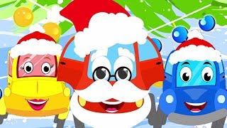 Desejo-lhe um feliz natal | Canções para crianças | Little Red Car Song | Wish You a Merry Christmas