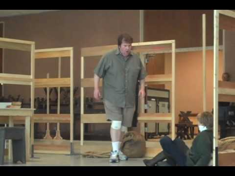 Peter Grimes at the San Diego Opera (Rehearsal)