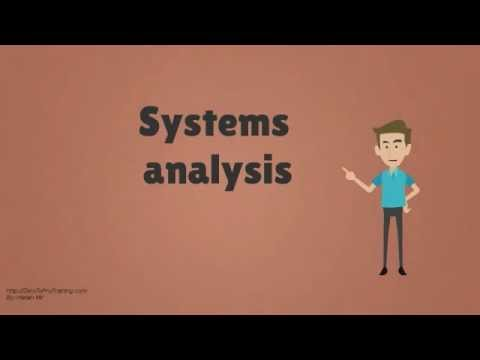 Who is a Systems Analyst?