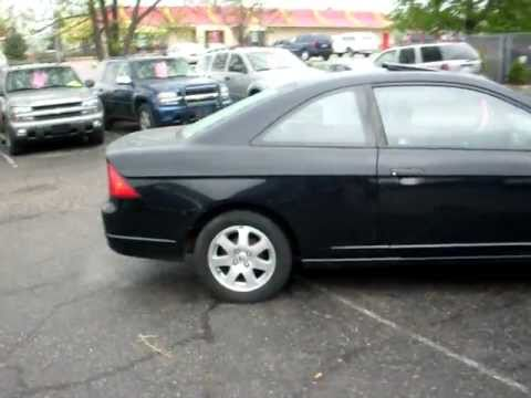 2003 Honda Civic Ex 2 Door Coupe 1 7 Liter V Tech 4cyl