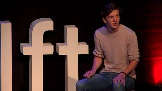 How I overcame depression by just sitting around | Jonathan Schoenmaker | TEDxDelft