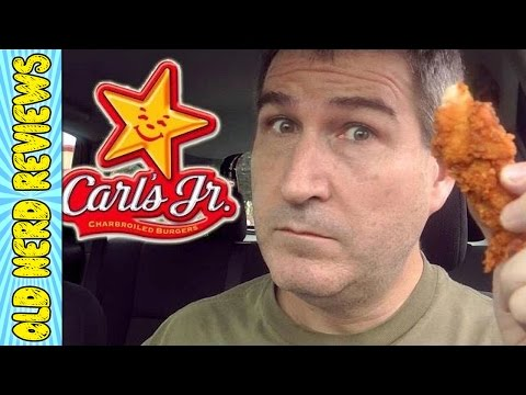 Carl's Jr Hand-Breaded Chicken Tenders REVIEW