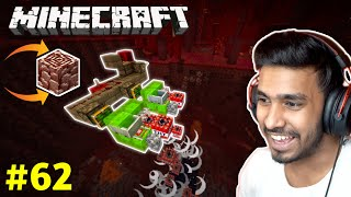 MICRO MINER MACHINE DESTROYED NETHER | MINECRAFT GAMEPLAY #62