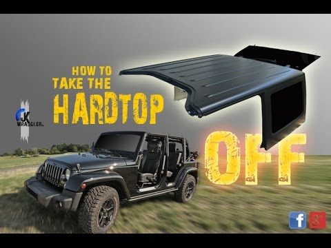 Jeep Wrangler Jk How To Remove The Hardtop Mopar Youtube