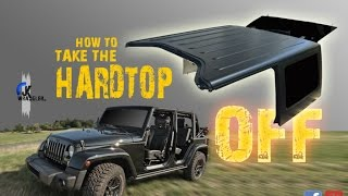 Jeep Wrangler JK | How to remove the HardTop (MOPAR)