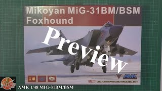 AMK 1/48th MIG-31 Foxhound