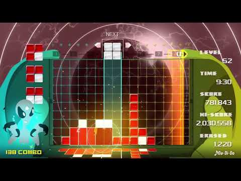 Lumines Remastered | Challenge Basic IN ONE 326 COMBO