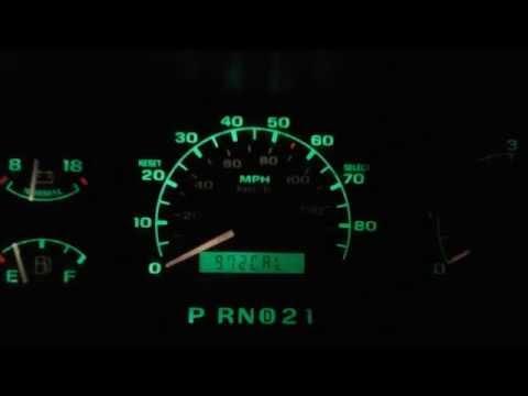 92-96 F150 speedo calibration test.