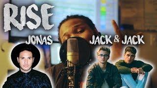 Jonas Blue ~ Rise ft. Jack & Jack (Kid Travis Cover)