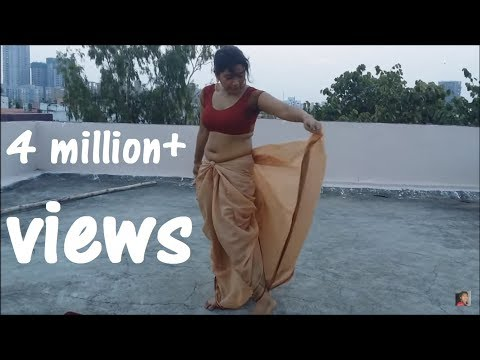 Warrior Princess Dhoti saree tie | AVANTIKA look in bāhubalí