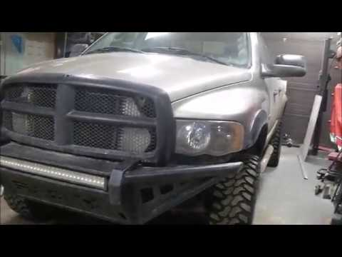 Dodge Ram 3rd Gen Per Fabrication Mins Shtf Led Light Bar