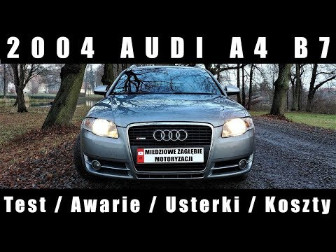 2004 Audi A4 B7 Test Awarie Usterki Koszty Youtube