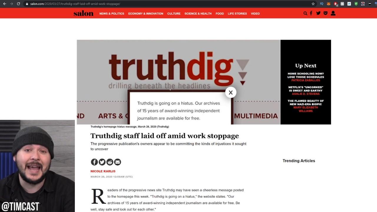 """Progressive Media Outlet Goes On STRIKE So """"Progressive"""" Owner Nukes The Website"""