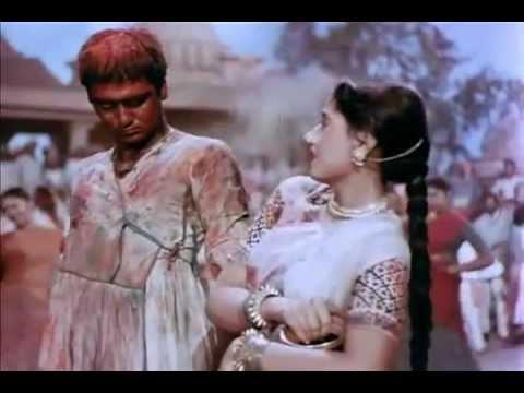 Holi Aayee Re Kannhai - Mother India, Lata, Rafi  Shamshad Begum