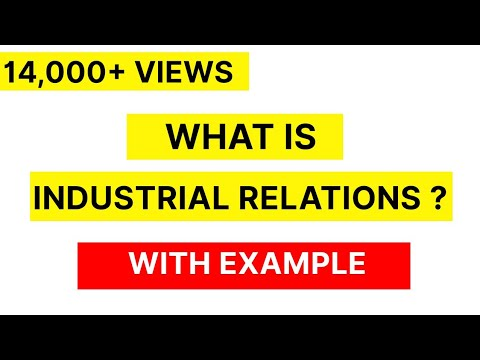 INDUSTRIAL RELATION OF HRM IN HINDI