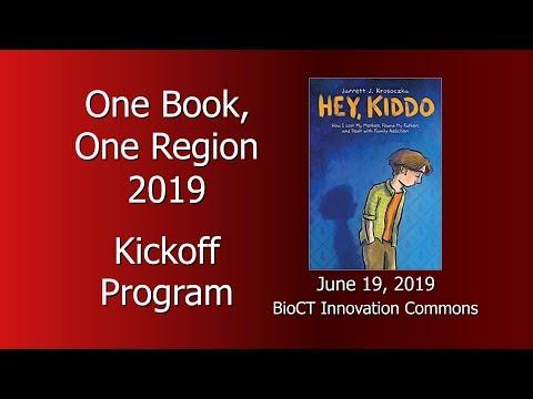"One Book, One Region 2019 Kickoff: ""Hey Kiddo"" by Jarrett J. Krosoczka Mp3"