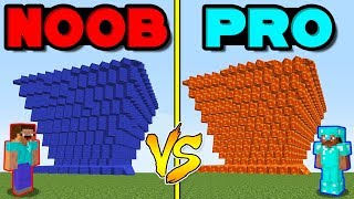 Minecraft Battle: NOOB vs PRO: TSUNAMI OF LAVA AND WATER in Minecraft!