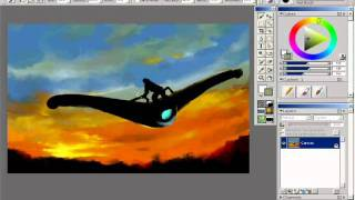 Speed paint : Burning World