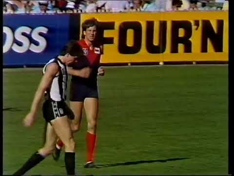 1987 AFL Round 7 Melbourne Vs Collingwood - 1st Half