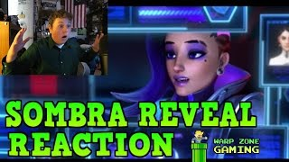 SOMBRA INFILTRATION TRAILER REACTION! - Overwatch