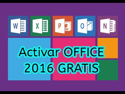 clave activar office 2016 windows 10