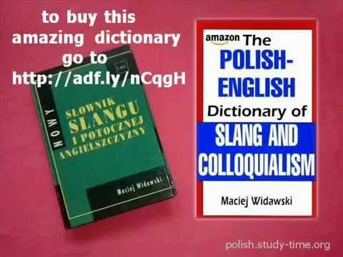 The Polish-English dictionary of slang