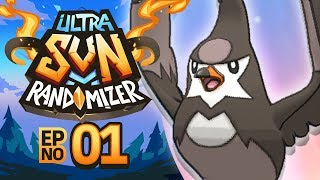 Pokemon Ultra Sun Randomizer Nuzlocke - Episode 01 | HONEYYY PLEASEEE