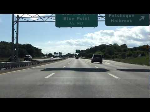 Sunrise Highway (NY 27 Exits 58 to 51) westbound