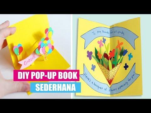 Ide Kreatif Cara Membuat Pop Up Book Sederhana