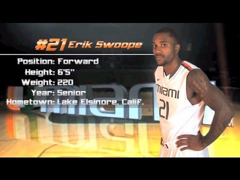 Erik Swoope UM Basketball Highlights