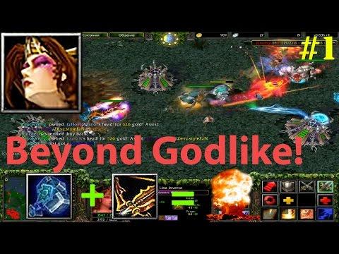 видео: dota 6.83d - ЛИНА В УРОН (ДД) | ГАЙД! ★ beyond godlike! #1