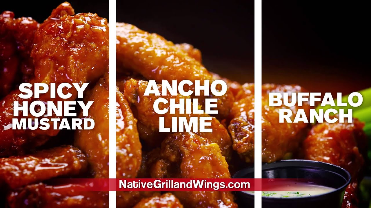 Native Grill Wings Football Promo Youtube