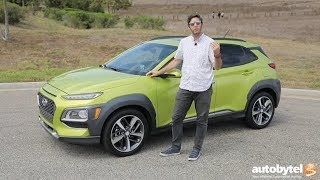 2018 Hyundai Kona Ultimate AWD w/Lime Accent Test Drive Video Review