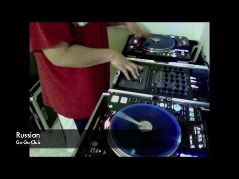 DJ RESERVE Denon DN-s3700 scratch demo