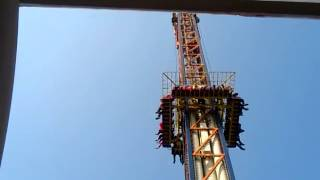 shoot &drop ride at essel world
