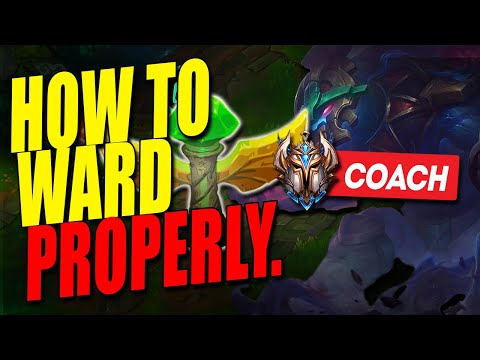 This is how to ACTUALLY WARD as a support – Challenger LoL Coaching