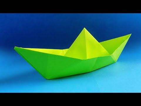 How To Make A Paper Boat - Origami Boat