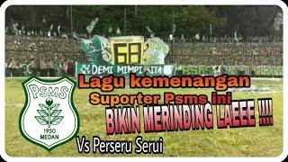 Download Video INILAH NYANYIAN KEMENANGAN SUPORTER PSMS MEDAN VS PERSERU SERUI MP3 3GP MP4