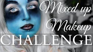 Mixed up Makeup CHALLENGE